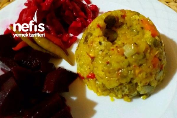 Patlıcanlı Pilav (Muhteşem Denemeyen Kalmasın ) Tarifi