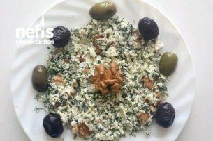 Peynir Ezmesi Tarifi