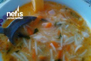 Şifa Çorbası Terbiyeli Tavuk Çorbası (Hastalıklara Birebir) Tarifi