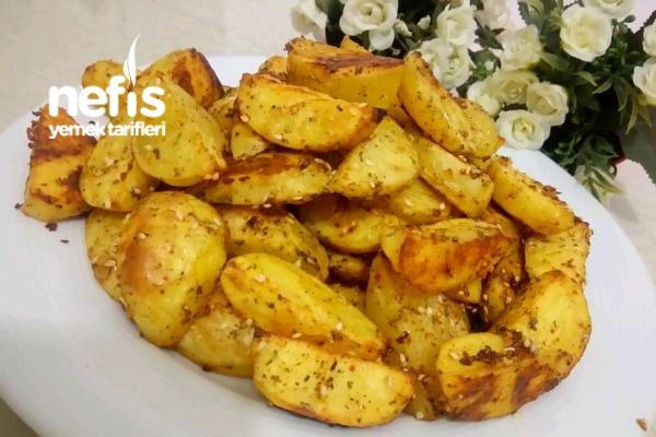 Fırında Özel Soslu Patates Tarifi