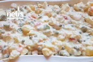 Gerçek Rus Salatası Böyle Yapılır Tarifi