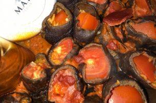 Kuru Patlıcan Dolması Tarifi