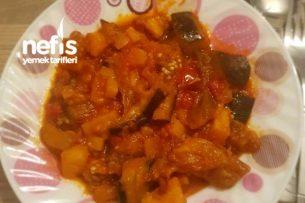 Patlıcan Ve Patates Türlüsü Tarifi