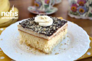 Borcamda Çikolatalı Yaş Pasta Yapımı Tarifi