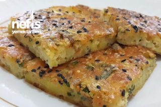 Patatesli Kek (Börek Tadında) Tarifi