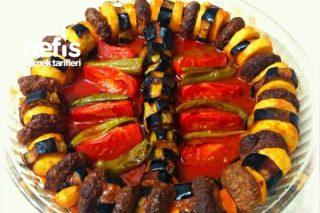 Patatesli Patlıcanlı Köfte Dizme Tarifi