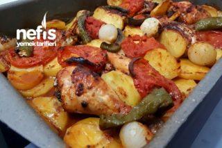 Nefis Fırında Sebzeli Tavuk Tarifi