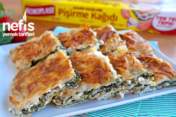 Ispanaklı Sodalı Tepsi Böreği – Yumuşacık çok lezzetli