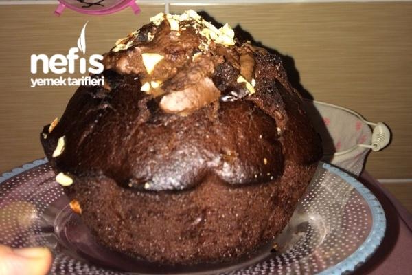 Krem Çikolatalı Nefis Kek Tarifi