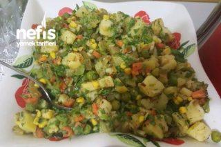 Karışık Patates Salatası Tarifi