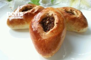 Kıymalı Pastane Poğaçası (Puf Puf Yumuşacık) Tarifi