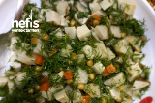 Enginar Salatası (Karaciğer Onarıcı) Tarifi