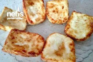Muhteşem Köy Peyniri Kızartması (Resimli Harika Kahvaltılık) Tarifi
