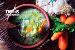Taneli Meyaneli Sebze Çorbası (Bol Vitamin) Tarifi