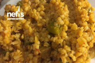 Patlıcanlı Bulgur Pilavı Tarifi