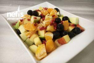 Şerbetli Doping Meyve Salatası Tarifi