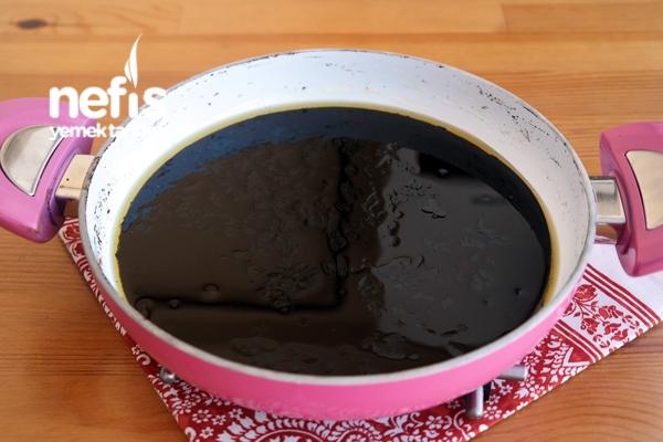 15 Dakikada Çikolata Kaplı Mozaik Pasta Yapımı