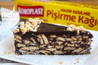 15 Dakikada Çikolata Kaplı Mozaik Pasta Yapımı Tarifi