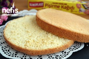 Pandispanya nasıl yapılır? Yumuşacık bir kek Tarifi