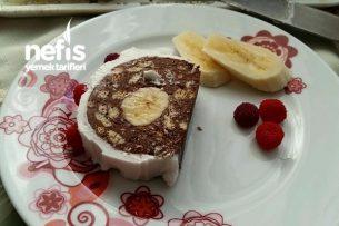 Rulo Mozaik Pasta (Arası Muzlu) Tarifi