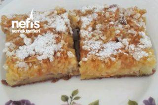Vitamin Deposu Bisküvili Ve Elmalı Kek Tarifi