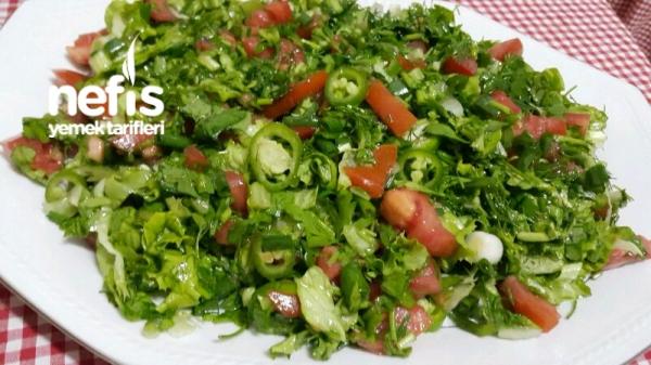 Marullu Kaşık Salatası