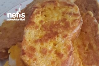 Kahvaltılık Yumurtalı Ekmek Dilimleri Tarifi