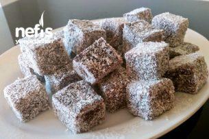 Kakaolu İrmikli Lokum (Çok Pratik) Tarifi