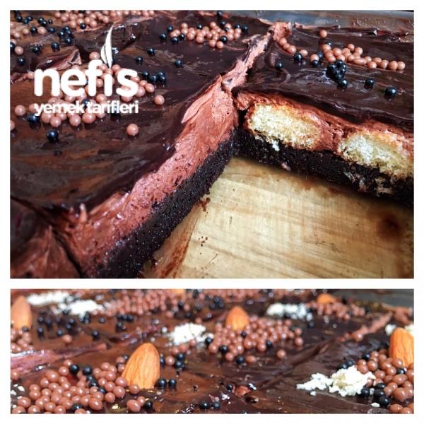 Müthiş Duble Çikolatalı Islak Kek
