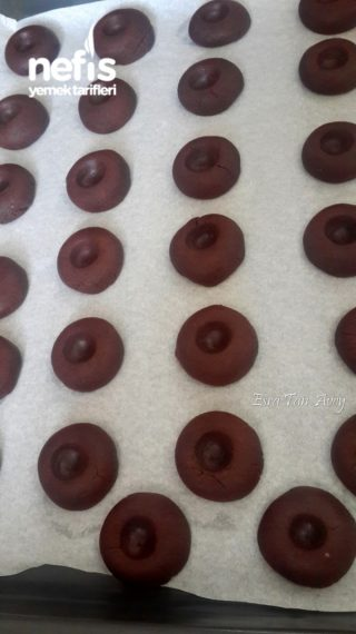 Çikolata Dolgulu Cam Kurabiye