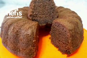 Yumuşacık Kek Arayanlara (Bol Çikolatalı Kek) Tarifi