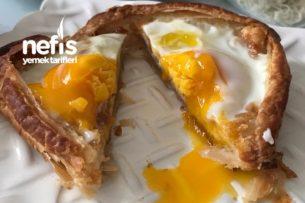 Kahvaltıya Harika Şekli Şahane Yumurta Tarifi