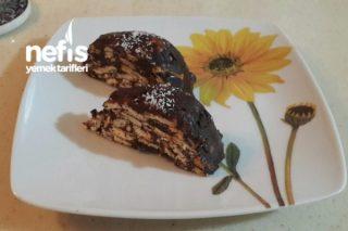 Kek Kalıbında Mozaik Pasta Tarifi