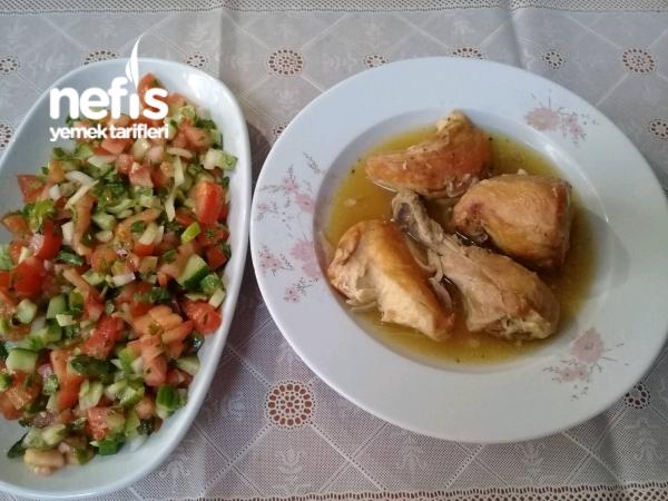 Köy Tavuğu Tadında tavuk Haşlama