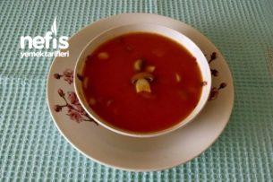 Mantarlı Domates Çorbası Tarifi