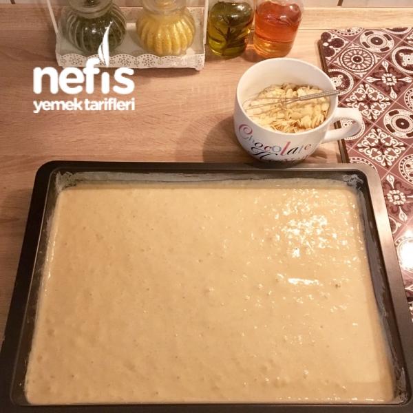 Ayranlı Bademli Kek