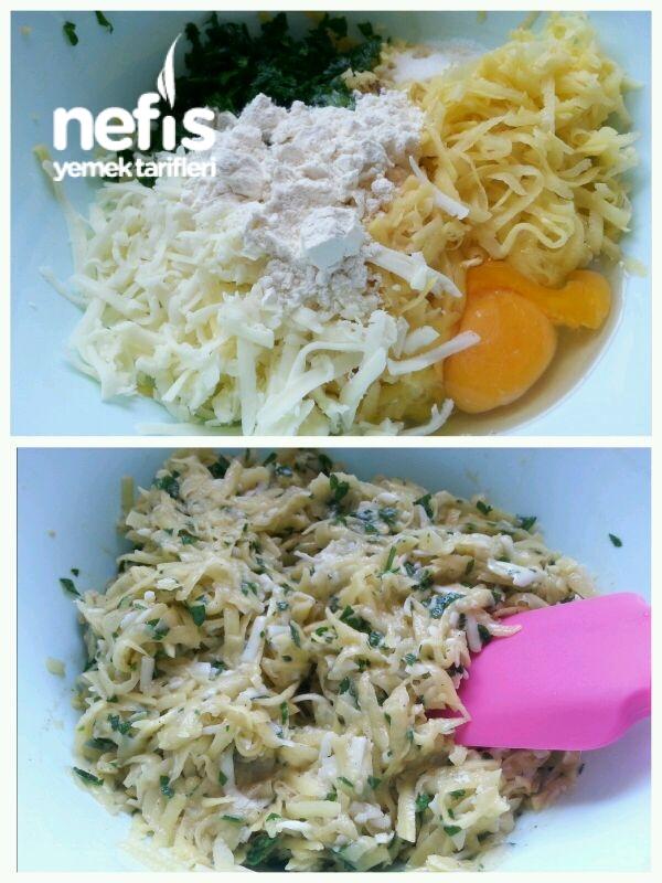 Parmak Yedirten Patates Mücver