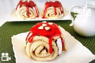 Porsiyonluk Şarlot Pasta (5 dk