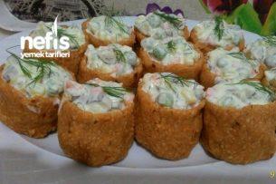 Çanak Salata Tarifi