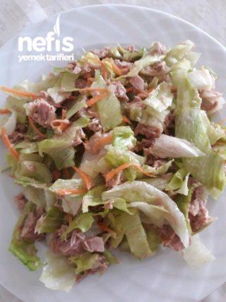 Spora Gidenler İçin Ton Balıklı Salata