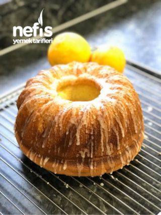 Limon Soslu Portakallı Kek