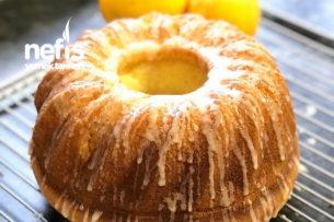 Limon Soslu Portakallı Kek Tarifi
