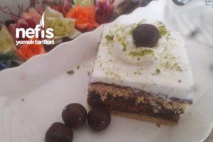 Yulaflı Bisküvili Nefis Pastam Tarifi