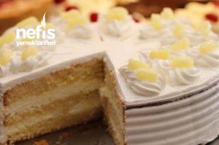 Ananaslı Hindistan Cevizli Pasta Tarifi