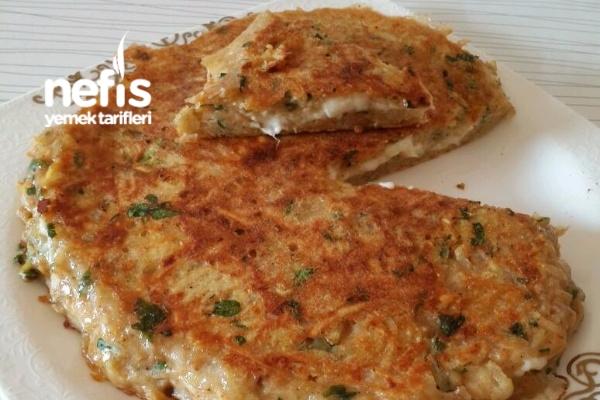 Kahvaltıya Kaşarlı Patates Böreği (Mükemmel)