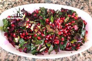 Narlı ıspanaklı Salata Tarifi