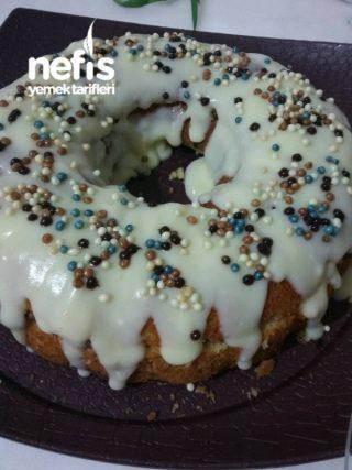 Karamelize Armutlu Kremalı Kek