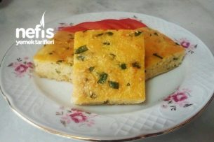 Maydanozlu Peynirli Kek Tarifi