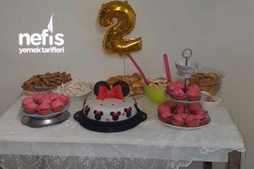 Minnie Mouse Doğum Günü Tarifi