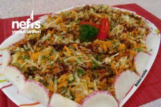 Nefis Havuçlu Turp Salatası Tarifi